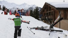 Club Med Peisey Vallandry, départ ski, mars 2017