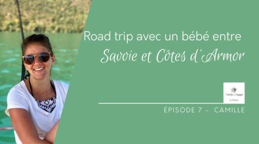 Road trip avec un bébé entre Savoie et Côtes d'Armor