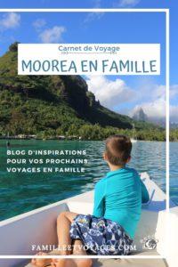 Carnet de voyages à Moorea