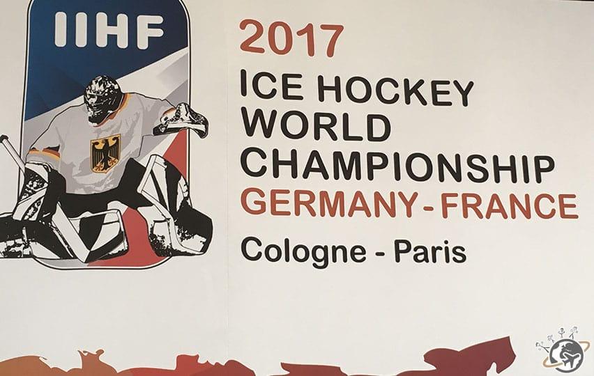l'affiche du championnat du monde de hockey sur glace