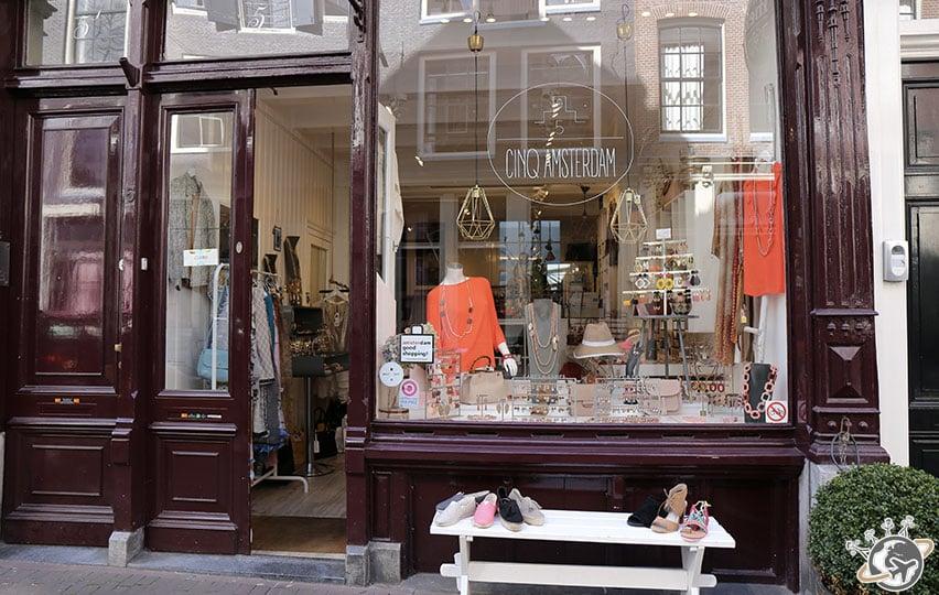 Les jolies boutiques françaises des 9 rues à Amsterdam