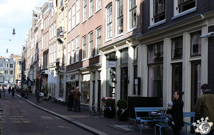 Les quartier des 9 rues à Amsterdam