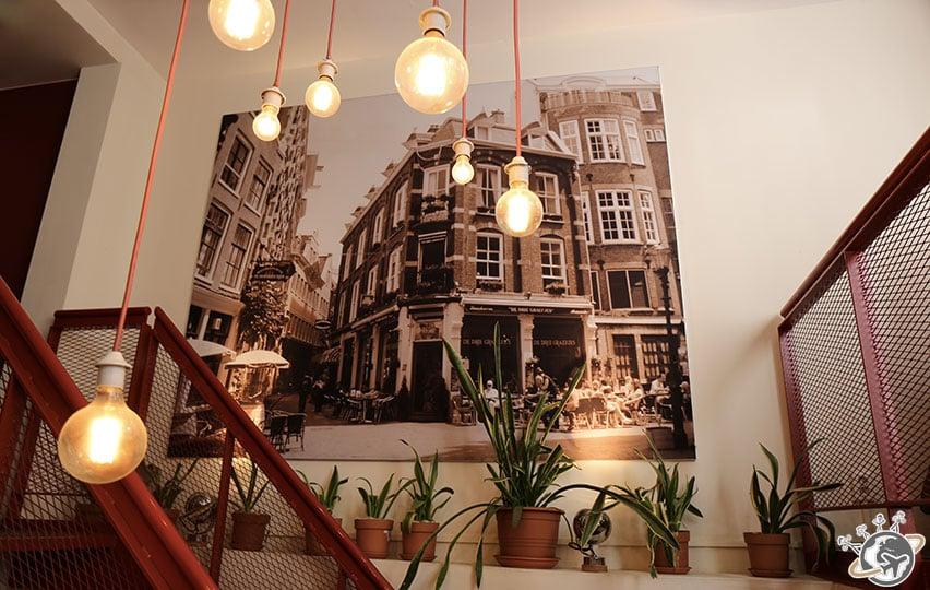 Le restaurant De Drie Graefjes à Amsterdam