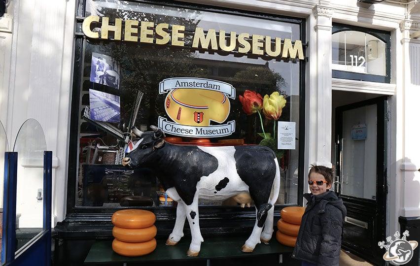 Le musée du fromage à Amsterdam