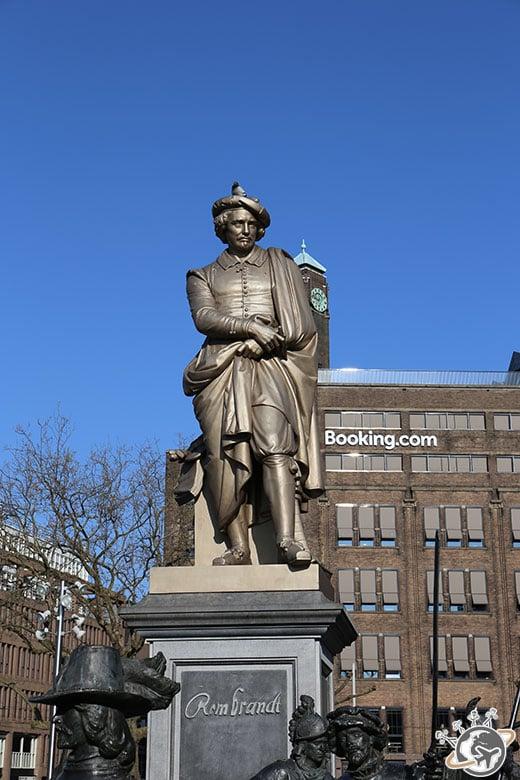 Rembrandtplein à Amsterdam