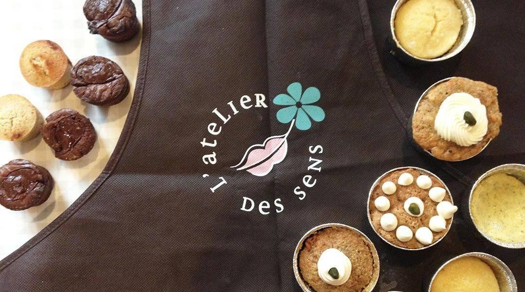 """les création du cours de pâtisserie """"Stars des cakes"""" à l'Atelier des Sens"""