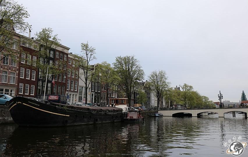 balade sur les canaux d'Amsterdam.