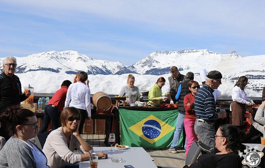 Un barbecue brésilien à la montagne !