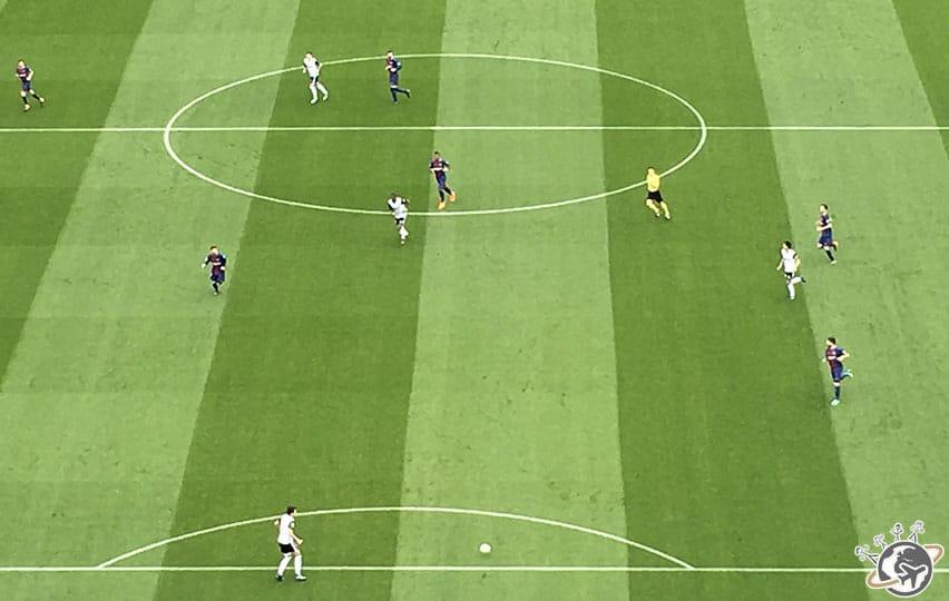 le stade de Camp Nou à Barcelone