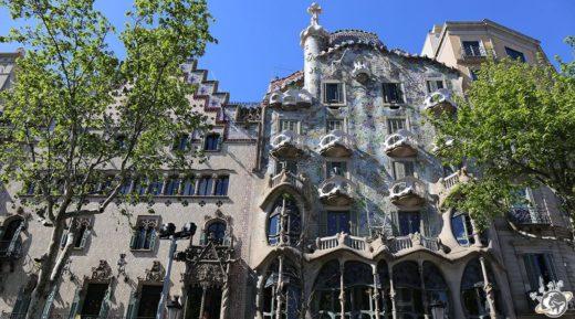 La Casa Batlló de Gaudi à Barcelone