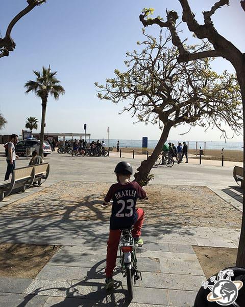 Balade guidée dans Barcelone à vélo