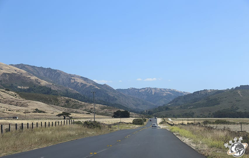 La route de Big Sur en californie