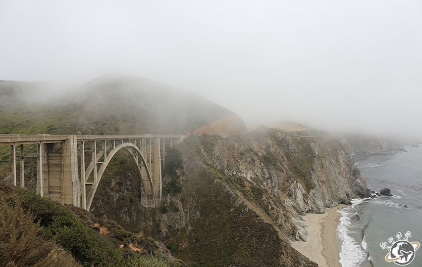 Le Bixby Bridge en Californie