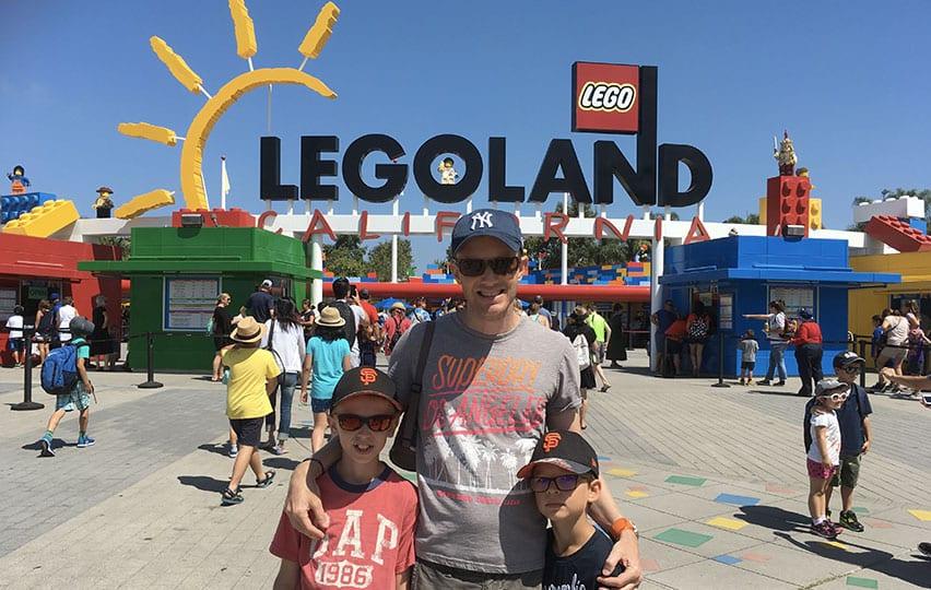journée à Legoland en Californie