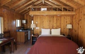 Notre cabane à El Capitan Canyon