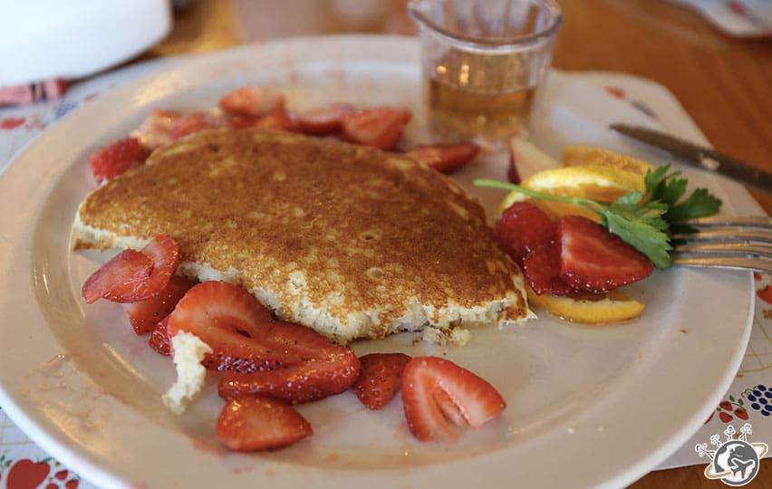 les pancakes de Solvang en Californie