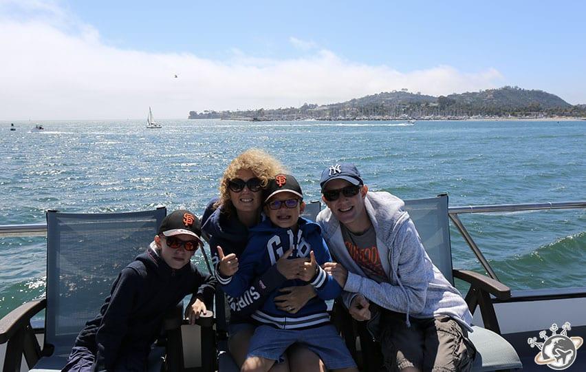 Une belle croisière dans la baie de Santa Barbara