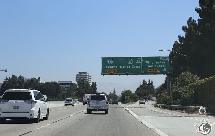 Sur la route de Santa Barbara