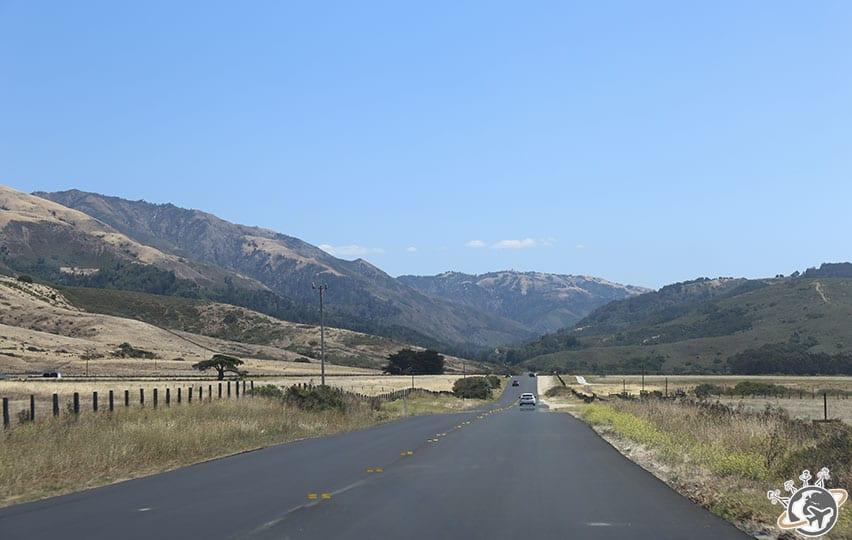 Sur la route de Big Sur