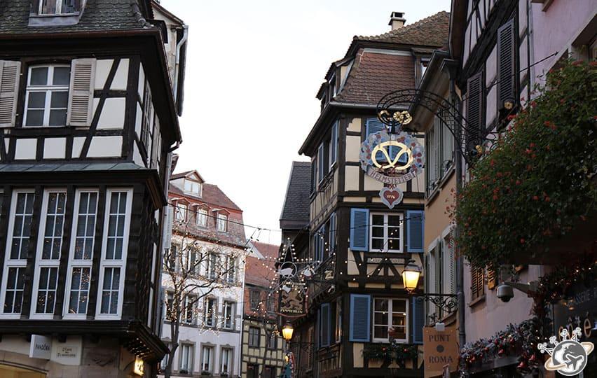 Les maisons de Colmar en Alsace