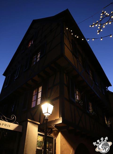 la nuit à Colmar