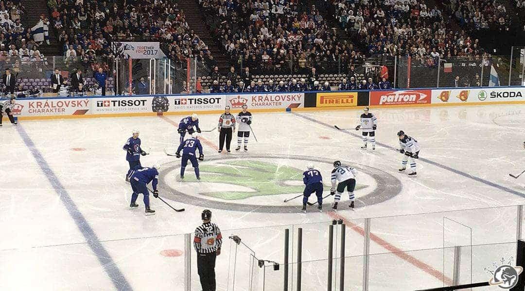 La coupe du monde de hockey sur glace à l'Accor Hotel Arena