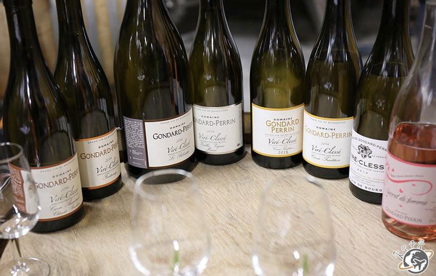 degustation de vin Viré Clissé lors du pique nique organisé par l'équipe du Relais de Montmartre de Frédéric Carrion