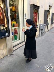 La glace est religion à Rome