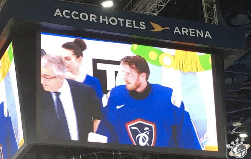 Hardy, goal remplaçant, meilleur joueur français du match