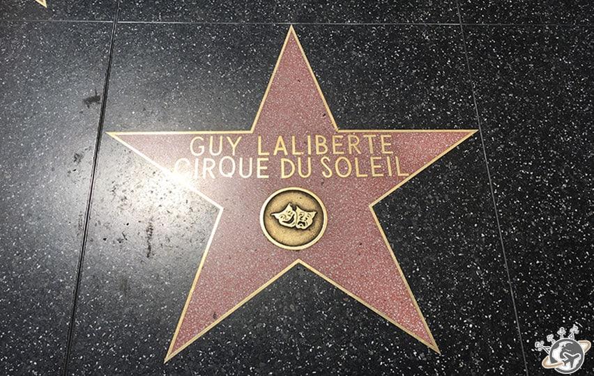 Les étoiles du walk of fame à Los Angeles en Californie