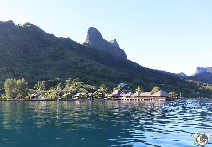 L'hôtel Kaveka dans la baie de Cook à Moorea