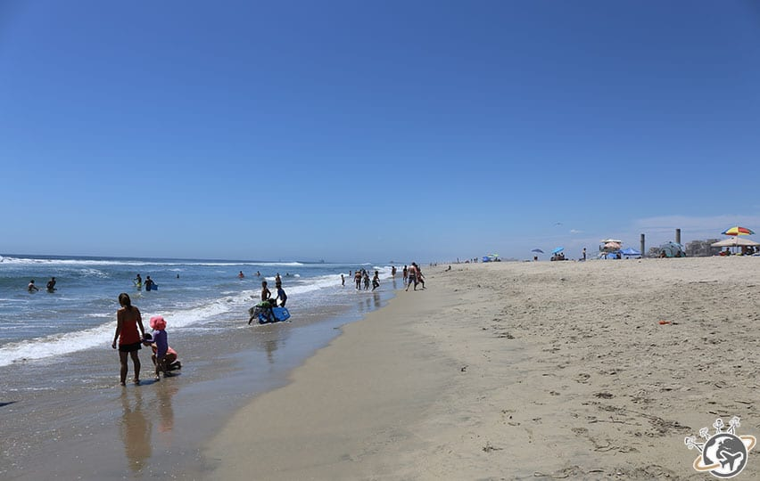 La plage de Huntington Beach en Californie