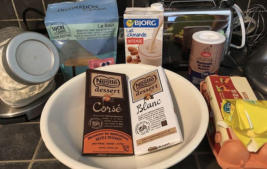 Les ingrédients pour de bons muffins