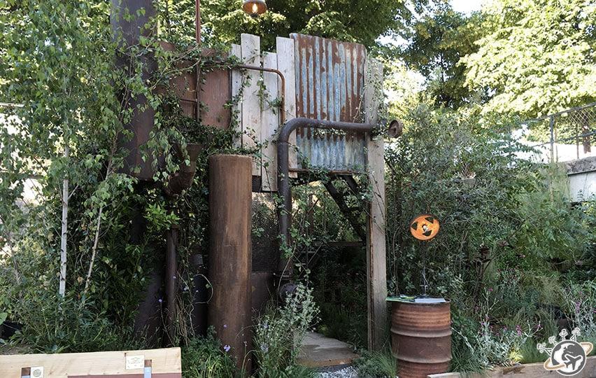 Le jardin rouillé
