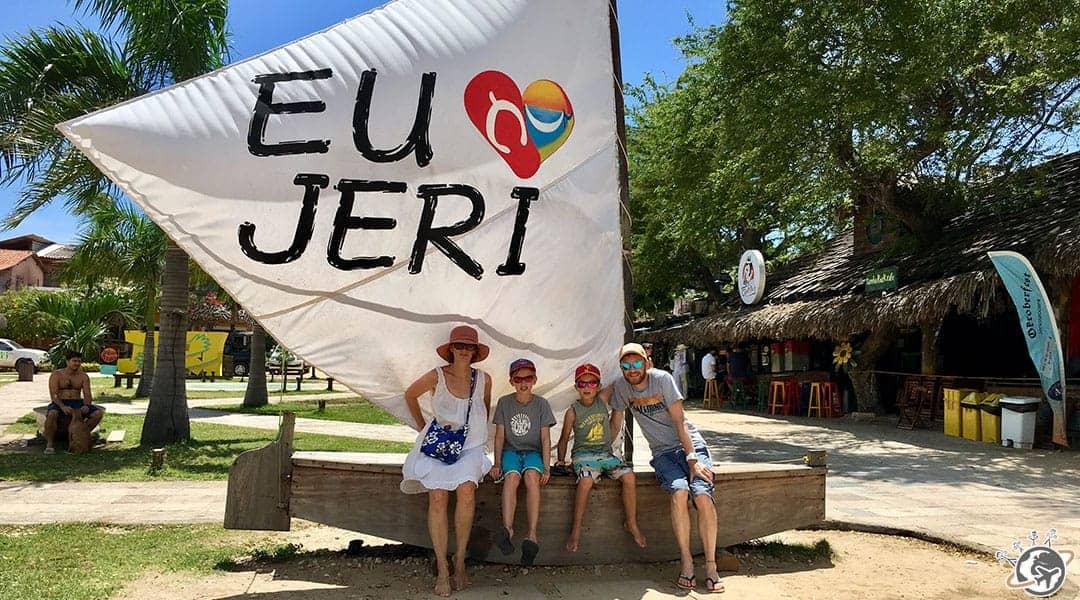 Jericoacoara au Brésil