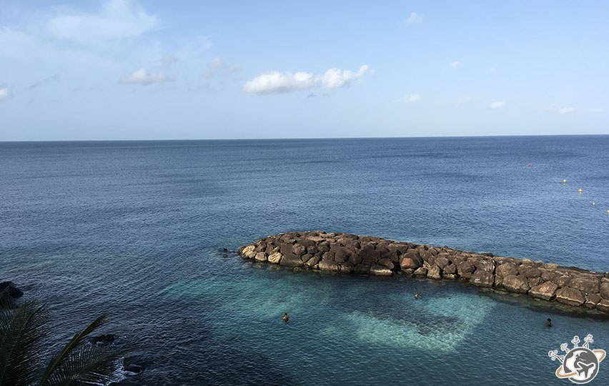 Hotel La Batelière, avec vue sur la mer des Caraïbes