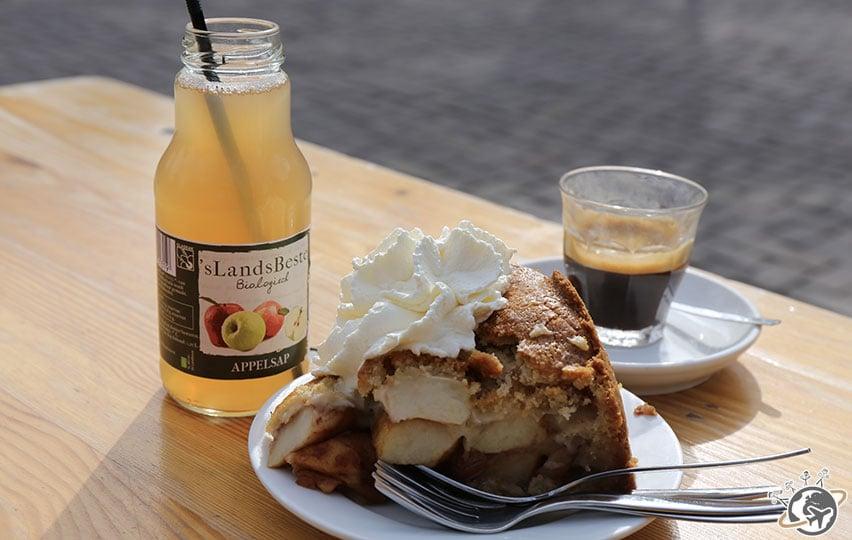 Une bien belle tarte aux pommes