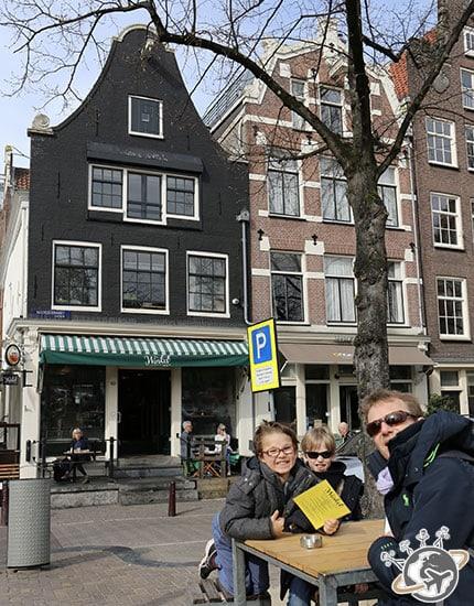 En terrasse au café Winkel