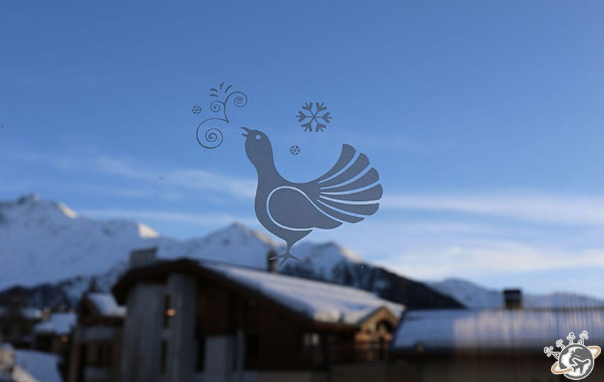 Le logo du Village Club Med Peisey Vallandry.