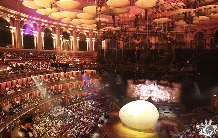 Ovo du Cirque du Soleil à Londres