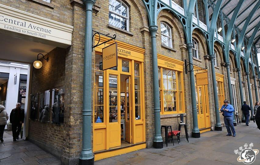 Le marché couvert de Covent Garden à Londres