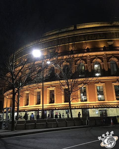 Le Royal Albert Hall à Londres