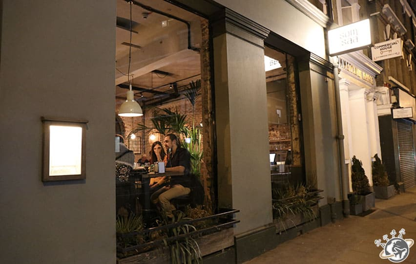 Som Saa restaurant thaï à Londres