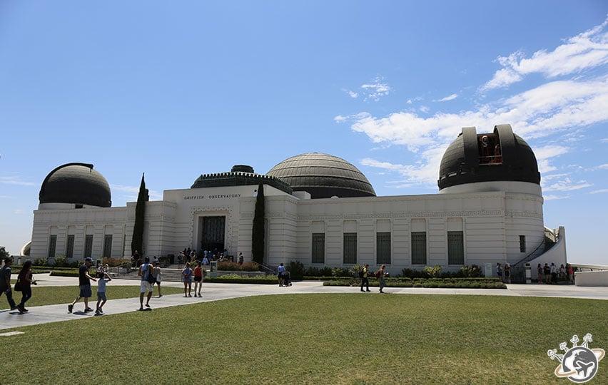 Le Griffith Observatory à Los Angeles en Californie