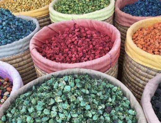 Les couleurs de Marrakech