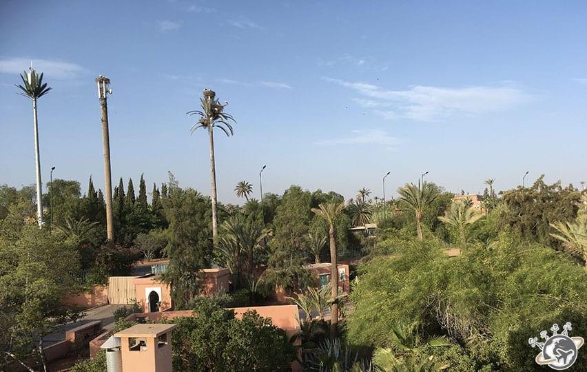 Les couleurs typiques de Marrakech