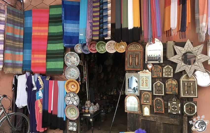 Les souks de Marrakech