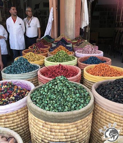 Les souks de Marrakech - l'herboristerie