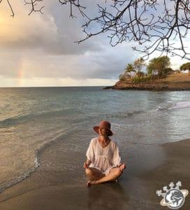 Arc en ciel à Sainte-Luce en Martinique