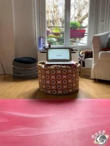 mon studio de yoga